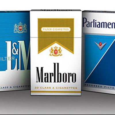 بسته بندی سیگار