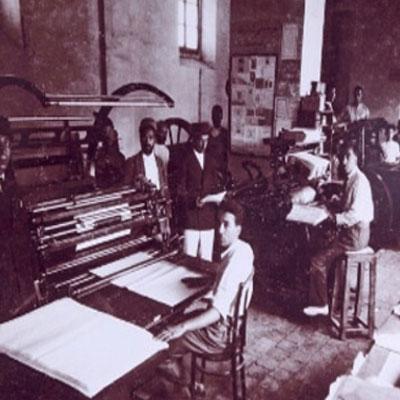 چاپخانه های قدیمی