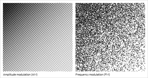 Amplitude modulation AM - Frequency modulation FM