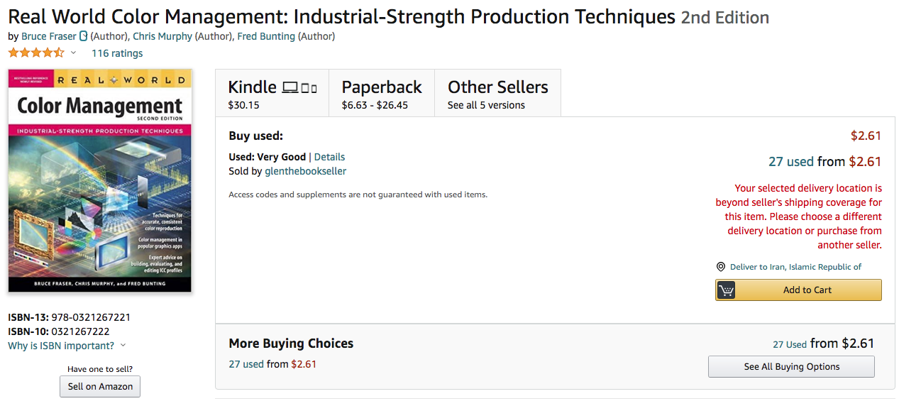 Real World Color Management: Industrial-Strength Production Techniques 2nd Edition