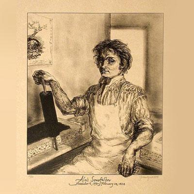alois-senefelder-lithography